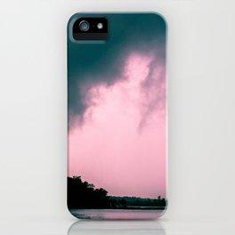 Gloomy Lake iPhone Case