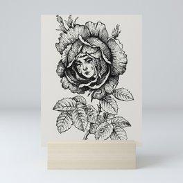 Sad Rose Mini Art Print