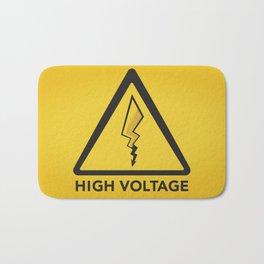 High Voltage Bath Mat