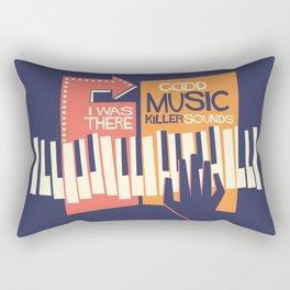 For the Love of Music Rectangular Pillow