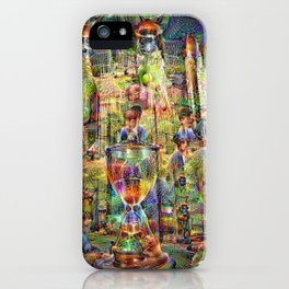 DeepDream Pictures, Cathedral iPhone Case