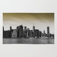 manhattan Area & Throw Rugs featuring Manhattan by Forand Photography