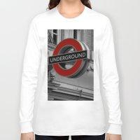 velvet underground Long Sleeve T-shirts featuring Underground by itsthezoe