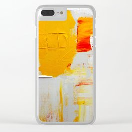Pingo Dourado - Landscape Clear iPhone Case