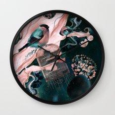 flower egg Wall Clock