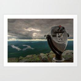 Lake Placid Vista Art Print
