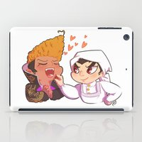 baking iPad Cases featuring Baking together by AMC Art