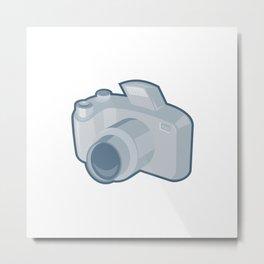 dslr camera retro Metal Print