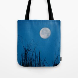 Faded Moon Tote Bag
