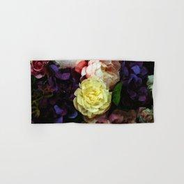 Shabby Chic Flowers Pattern Hand & Bath Towel