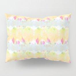 Summer Vibes Tie Dye in Sunshine Yellow Pillow Sham