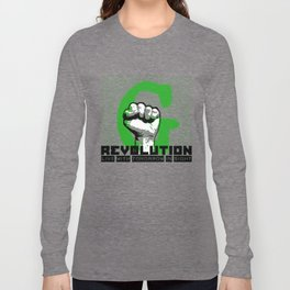 G (green) REVOLUTION Long Sleeve T-shirt