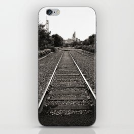 Railroad Tracks iPhone Skin