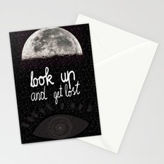 Look up and get lost  Stationery Cards