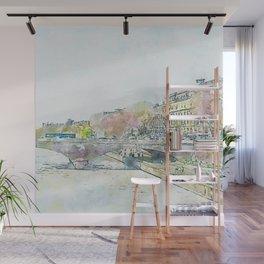 La Seine 5 by Jennifer Berdy Wall Mural
