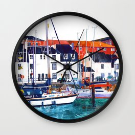 Weymouth Port Wall Clock