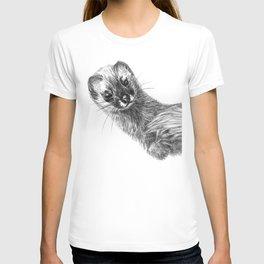 Siberian Weasel Kolinsky T-shirt