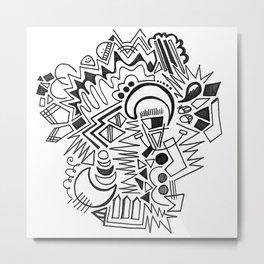 Shazam Metal Print