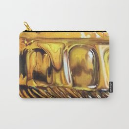 Reflections in Yellow Carry-All Pouch