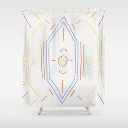 Alchemy 5 Shower Curtain