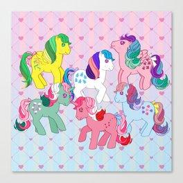 g1 my little pony twinkle eye ponies Canvas Print
