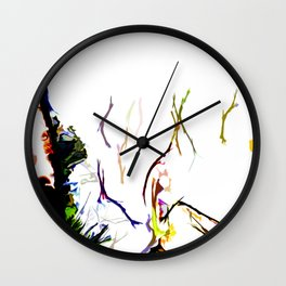 Abstract of Shapes and Color Wall Clock