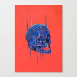The king of skull Canvas Print