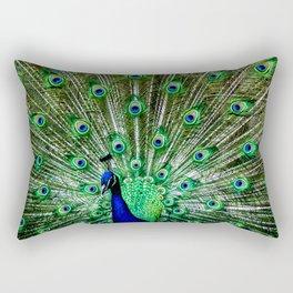The peacock of Hellabrunn Rectangular Pillow