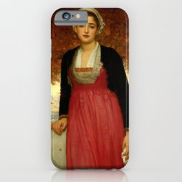 "Frederic Leighton ""Amarilla"" iPhone Case"