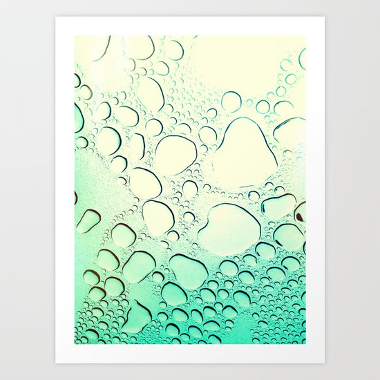 Raindrops? More like Rain Puddles Art Print
