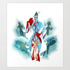 Marvel - Frost Giantess Art Print