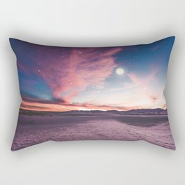 Moon gazing Rectangular Pillow