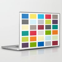 square Laptop & iPad Skins featuring Square by Kunststraße