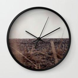 Hiding ground Wall Clock