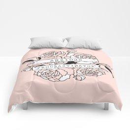 anxious procrastinator Comforters