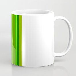 Green Stripes Coffee Mug