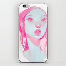 visage - pink iPhone & iPod Skin