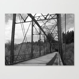 We're On A Road To Nowhere Canvas Print