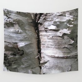 Watercolor Anthropomorphism 68, Tree Washed Aspen Pants Wall Tapestry