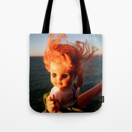 Ferry Girl Tote Bag