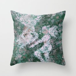 Seeing Something in Nothing Throw Pillow