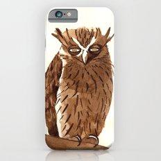Golden Eyed Owl iPhone 6s Slim Case