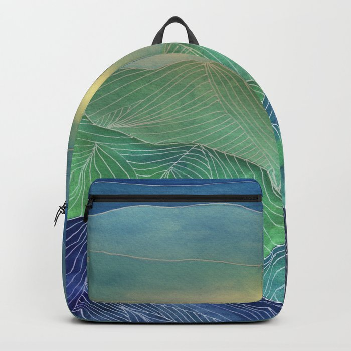 Lines in the mountains V Backpack