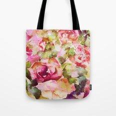 roses abstraites Tote Bag