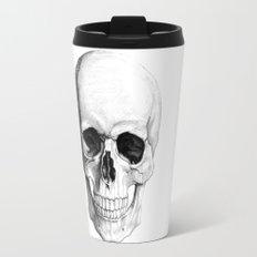 Human Skull Skeleton Travel Mug