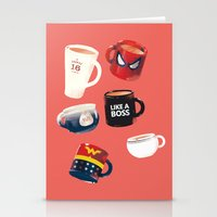 persona Stationery Cards featuring Workday Persona  by vonhagee