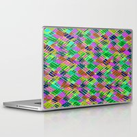 darren criss Laptop & iPad Skins featuring Criss Crossover by Sarah Bagshaw