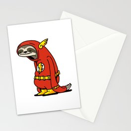 Funny Sloth Shirt The Flash The Neutral Stationery Cards
