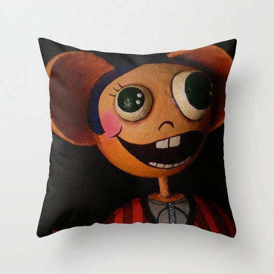Fred Favolas Throw Pillow
