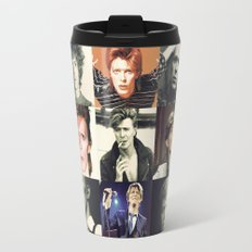 Bowie Faces Travel Mug
